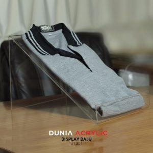 display baju x2